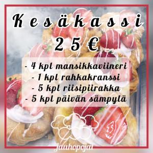 Kesäkassi (25€)