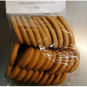 Vaniljasydämet (4.5€)